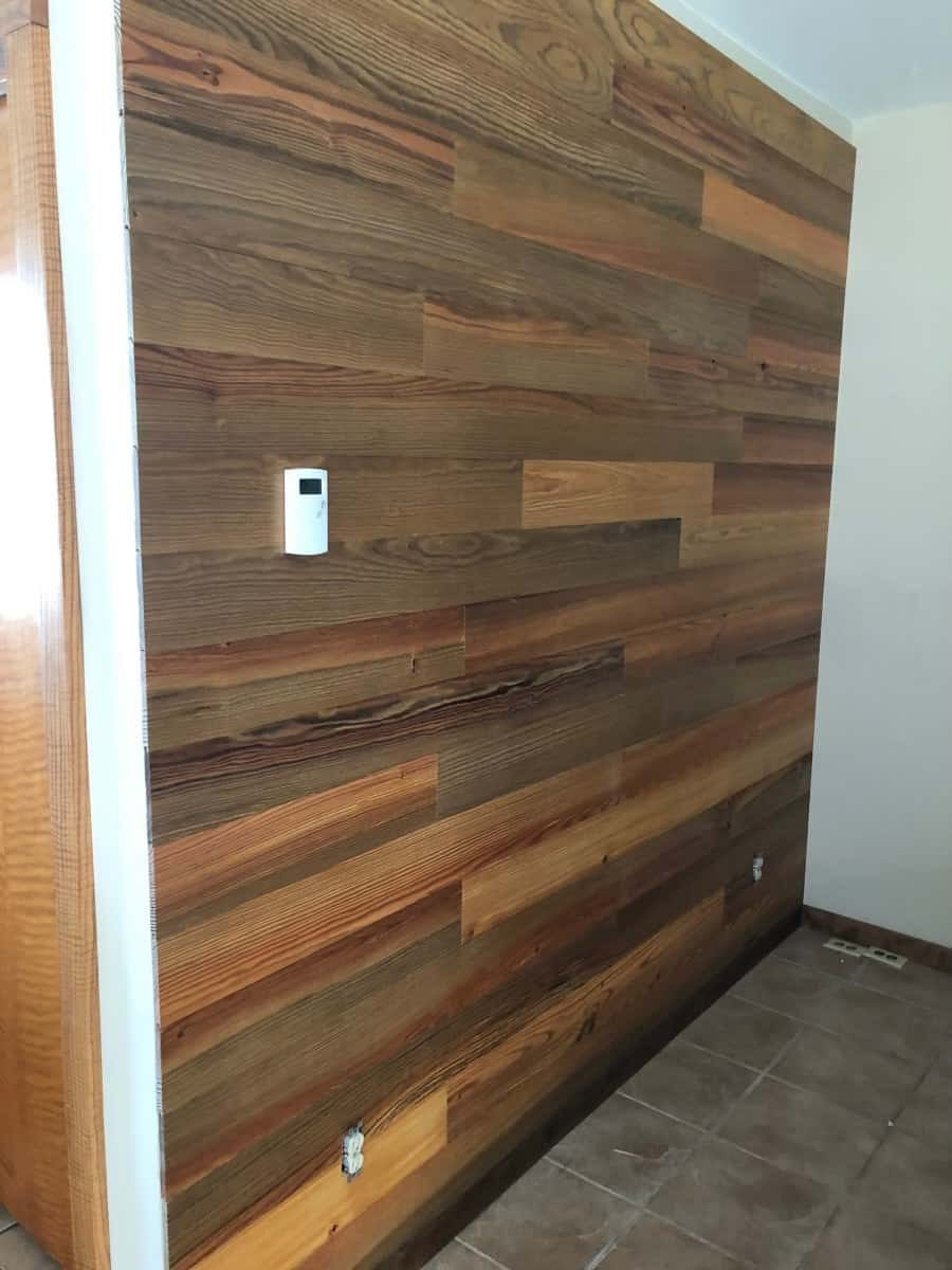 Peel & Stick Wood Paneling