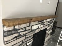 Reclaimed Wood Mantle
