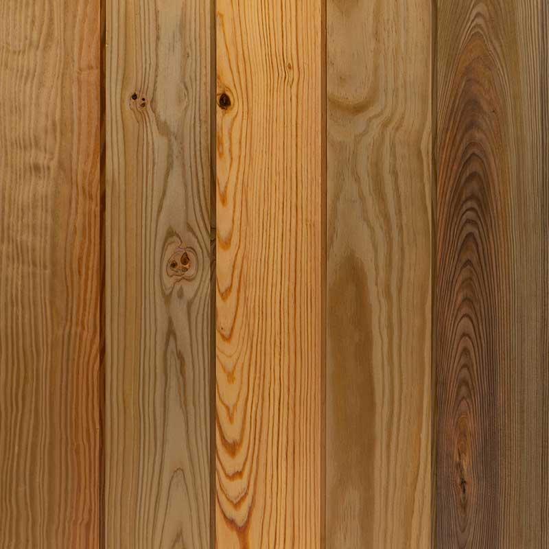Heart Pine Paneling